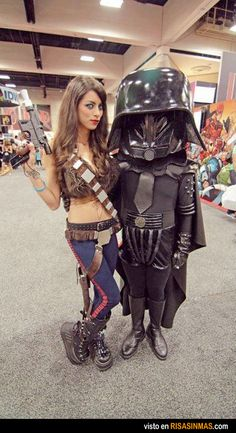 El Darth Vader cabezón liga más