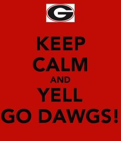 Georgia Bulldogs !! Goooooo Dawgs!