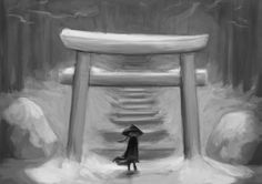 Snow Samurai by paulo22.deviantart.com on @DeviantArt