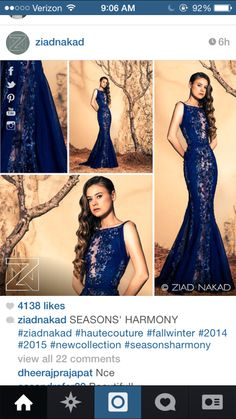 In love with this Ziad Nakad gown