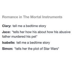 I wonder how long it took Simon to tell her about Star Wars?