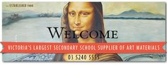 Cavalier Art Supplies established 1990 ~ Victoria's Largest Secondary School Supplier of Art materials ~  WELCOME TO CAVALIER ART SUPPLIES ~...