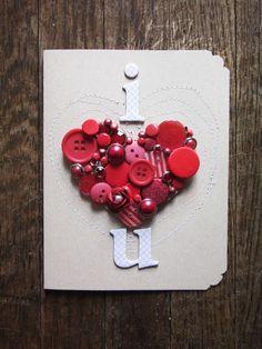 30 Modelos de Cartões Criativos Românticos