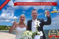 Hochzeit auf Rügen, Trauung am Ostseestrand, Heiraten auf Rügen