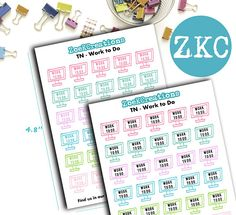 Planner Time Planner Stickers   Traveler's Notebook
