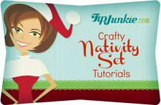 12 Crafty Nativity Set Tutorials--some really great ideas all in one place.