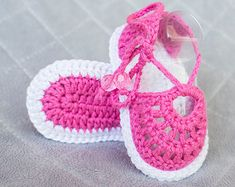 Boy sandals Crochet Baby Boy Sandals Baby by DaisyNeedleWorks