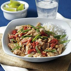 Thai-Style Pork Stew | MyRecipes.com #MyPlate #protein #grain #vegetable