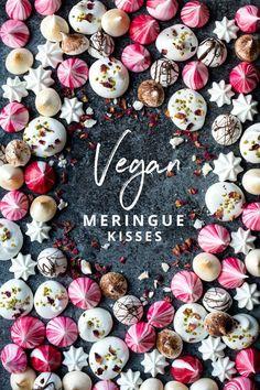 Vegan Meringue Kisses, the perfect little festive treat
