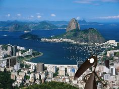 Rio de Janeiro is Brazil's second largest city and the capital of the State of Rio de Janeiro. Rio de Janeiro is located close to the Tropic of Capricorn, on Brazil's Atlantic Coast. Vacation Destinations, Dream Vacations, Vacation Spots, Vacation Packages, Romantic Vacations, The Places Youll Go, Places To See, Brazil Wallpaper, Rio De Janerio