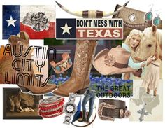 A little bit of Texas, created by sheplers-western-wear on Polyvore