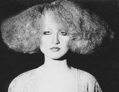 Know your hair history?  SLEEPERS, FIRST USE OF CRIMPER IN MODERN ERA - 1975 Hair: Elmer Olsen, La Coupe ... Makeup: Electa & Corrado ... Model: Model: Rudy Maciukas ... Photo: Serge Beauchemin ... Produced by Helen Oppenheim