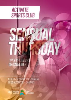 Sensual Thursday an evening for girls only! Every 1st & 3rd Thursday of every month, Pole Dance masterclass, cocktails & canapes.  #poledance #masterclass #cocktails #girls #tenerife #costa #adeje