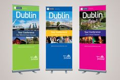 Dublin Pull Up Banners