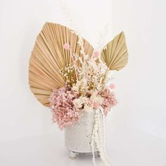 Beautiful dried flower arrangements for your home, your workplace reception counter or wedding. Explore our ready-made floral and ceramic vessel designs. Wedding Room Decorations, Wedding Centerpieces, Wedding Decor, Dried Flower Bouquet, Dried Flowers, Bridal Gifts, Wedding Gifts, Paper Daisy, Dried Flower Arrangements