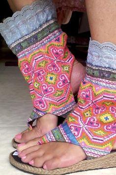 Hippie Gypsy Summer Boots Size 6