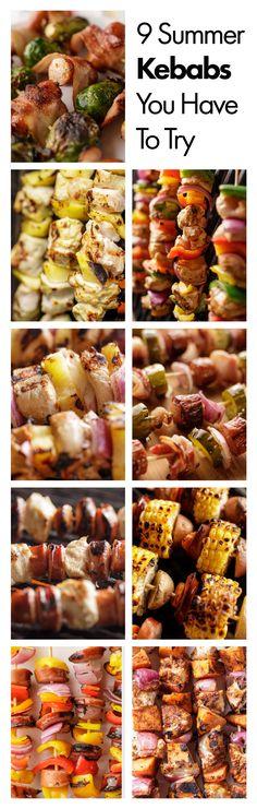 Summer Kebab Recipes