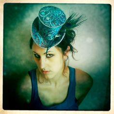 Peacock top hat