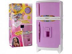 Refrigerador Duplex Casinha Flor com Som - Xalingo com as melhores condições você encontra no Magazine Gatapreta. Confira!