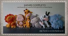 Bichinho De Feltro Com 20 Cm - Safari E Outros Animais - R$ 21,00 no MercadoLivre
