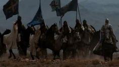 Dans sa marche sans obstacle, Saladin était arrivé, d'après certains chroniqueurs, près de Tell Djézer, le Montgisard des Francs, d'après d'autres, seulement devant Tell Séfi, la Blanche-Garde des Croisés, à l'entrée de la Vallée des térébinthes. À sa stupéfaction, il vit surgir au-dessus de lui, du côté où il s'y attendait le moins, cette armée franque qu'il croyait réduite à l'impuissance derrière les murailles d'Ascalon.