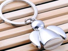 HJ Angel Keyring Creative Keychain Polished Chrome Classic Key Bag Chain Gift Check out http://ift.tt/1KdrnB9