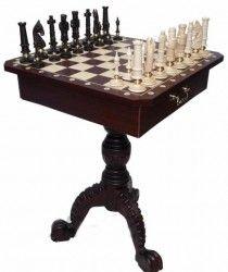 šachový stoleček