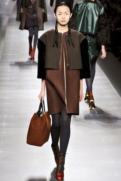 Fendi Fall 2012 Ready-to-Wear Fashion Show - Xiao Wen Ju