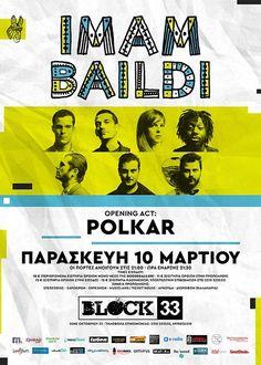 10 χρόνια @imambaildi και το γιορτάζουμε στην Θεσσαλονίκη, την Παρασκευή 10 Μαρτίου. Σας περιμένουμε! Acting, Posters, Concert, Poster, Concerts, Smoke