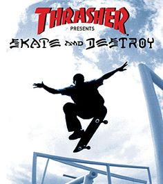 Thrasher: Skate and Destroy by Rockstar Games Thrasher Skate And Destroy, Primary Games, Skateboard Videos, Classic Video Games, Cool Skateboards, All Games, Games Box, Board Games, Rockstar Games