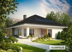 Bungalow with attic to adapt, basement and a garage for two cars – Amazing Architecture Magazine Architecture Design, Architecture Magazines, Amazing Architecture, Bungalow Haus Design, House Design, Bungalow Designs, Style At Home, Story House, Modern House Plans