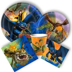 How to Train Your Dragon Party Supplies from www.DiscountPartySupplies.com