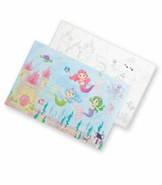 magical mermaids placemats (set of 8)