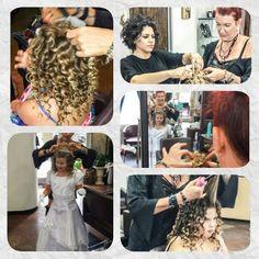 "#Princess for a day lol Tracy & Saghar making all of Isabella""s #Disney #DreamsComeTrue lol  #DisneyPrincess #HairUp #UpDo #Hair #Curls #Curlingiron #Flatiron #becurly #Salon #Stylist #Style #Fashion #Laguna #LagunaBeach"