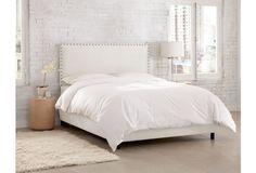Loren Bed, White