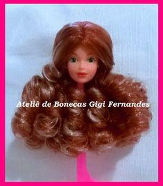 Restauração boneca Viky Passeio, amiga da Barbie Estrela, 1989 #reroot