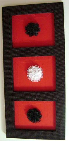 Quadrinho em tecido e Rosas com fita de seda | Flickr – Compartilhamento de fotos!