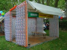 hadek plastic bottle installation by carminati dam