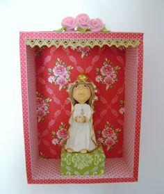 Atelier Floresta Encantada: Oratório Nossa Senhora de Fátima