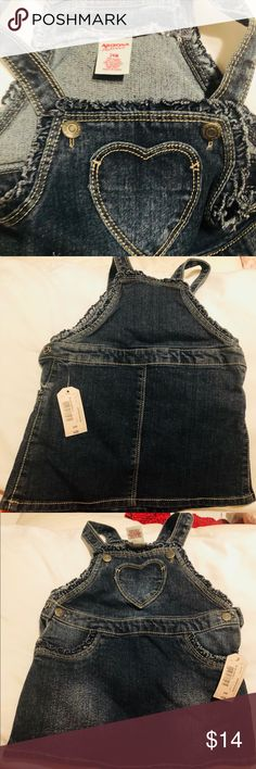 Cute little girl suspenders Never worn cute suspenders skirt. Pictures are an accurate display of conditions. Great for the winter with a long sleeve and tights or spring time with a short sleeve and sweater. Your choice ..😬😀 Arizona Jean Company Dresses Casual