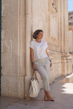 Quando se faz uma viagem de 10 dias, não é necessário levar um baú! Ilustro no post o que levar para não dar mão ao estilo visitando a Puglia!