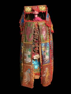 Africa | Egungun costume from the Egun society, from the Yoruba people Benin/Nigeria | ca. 1980