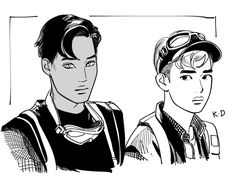 Image discovered by Cathy Phan. Find images and videos about exo, kai and do on We Heart It - the app to get lost in what you love. Kaisoo, Chanbaek, Kyungsoo, Chanyeol, Bts And Exo, Exo Kai, Exo Anime, Deadpool X Spiderman, Fanart Bts