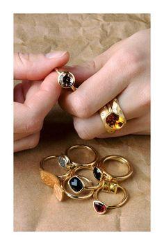100 Rings. Berman designers.