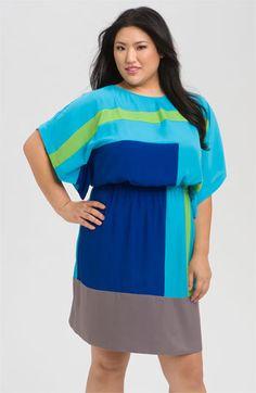 summer plus size dress. Cute