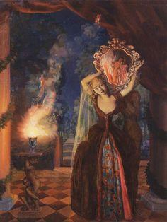 Enchantress - Konstantin Somov 1915
