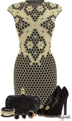 """""""Alexander McQueen Contest 2"""" by amybwebb on Polyvore"""
