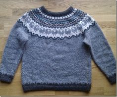 I've been watching Lilyhammer on Netflix and everyone wears a sweater like this.  I need to learn how to make this and how to speak/understand Norwegian.