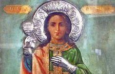 Πνευματικοί Λόγοι: Αγία Βαρβάρα: Γιατί στις εικόνες κρατάει ένα ποτήρ... Greek Beauty, Mona Lisa, Artwork, Painting, Icons, News, Work Of Art, Auguste Rodin Artwork, Painting Art