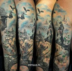 Hermoso Tattoo Assassin's Creed